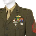 United States Marine Corp dress Alpha jacket.